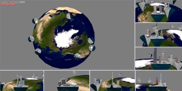 Simulation Screen Shots