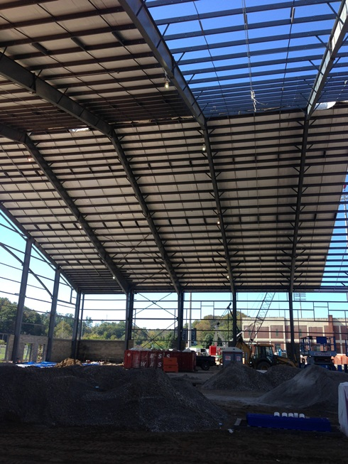 Walter Field House Construction