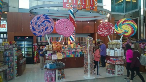 We did find heaven at the Dallas Airport!