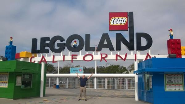 As engineers, we couldn't help but make a pit-stop at Legoland!