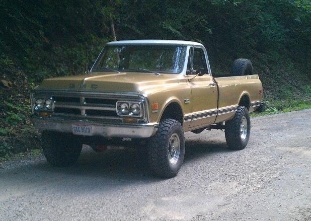 1970 GMC K2500