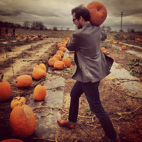 Engineer in a Pumpkin Patch