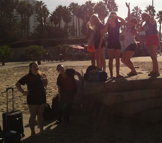 OU SWE at Santa Monica Beach