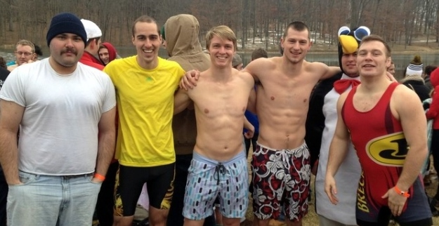 Polar Plunge: Before