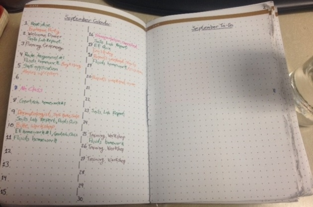 Monthly Calendar and To-Do