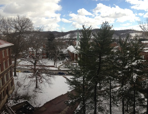 Snowy View from Alden