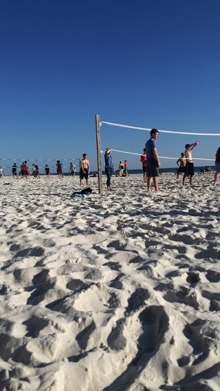 Volleyball on PCB
