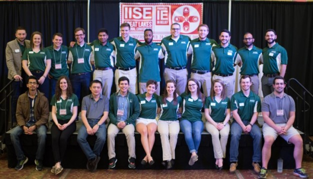 IISE Great Lakes Regional Conference Planning Committee at Ohio University in 2017