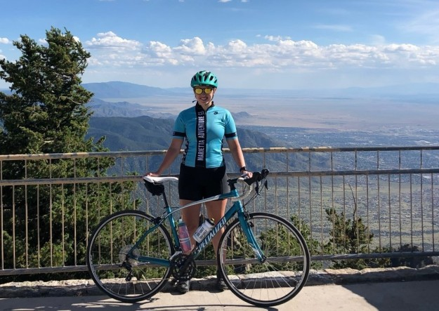 Cycling in the Sandia Mountains